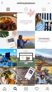 Instagram Profile With a Client Testimonial Post | Whitney Bateson Digital Strategy